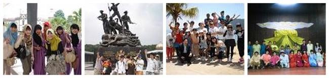 高2APU立命館コースがマレーシア・シンガポールへ修学旅行に行きました。