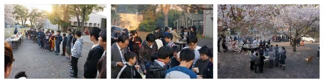 恒例 寮生歓迎バーベキュー大会 ~100人の寮生で大盛況!~