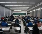 岩田中学校 専願・一般入試が行われる。~県内私立中学入試で最大の受験者数~