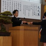岩田高等学校 第27回卒業証書授与式が行われました
