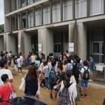 『岩田中学プレテスト』が行われました ~今回の志願者は184名~