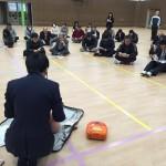 全教職員対象の心肺蘇生・AED講習が行われました
