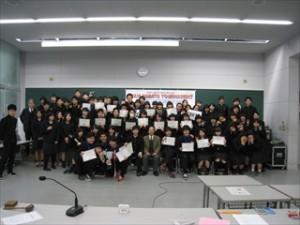 校内英語ディベート大会を開催しました